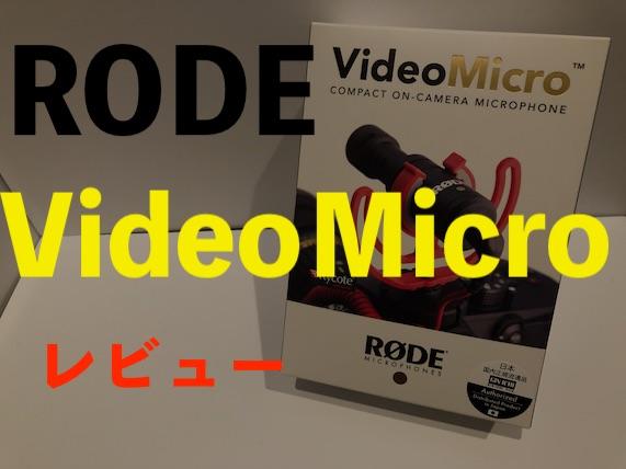 VideoMicroレビュー