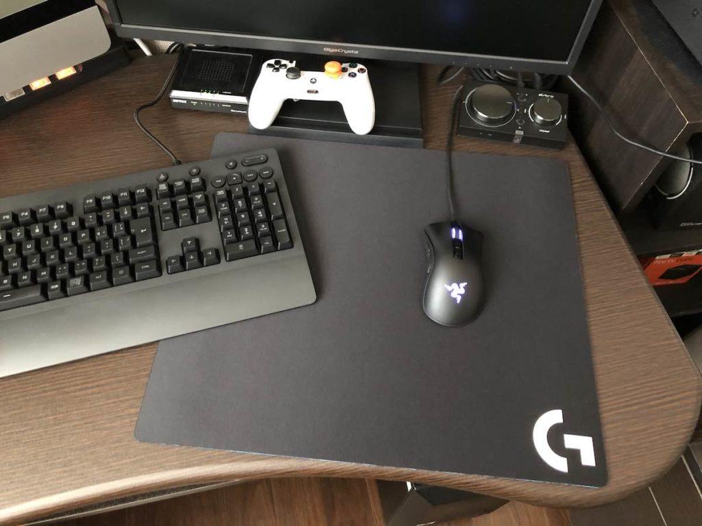ロジクール G640 設置参考