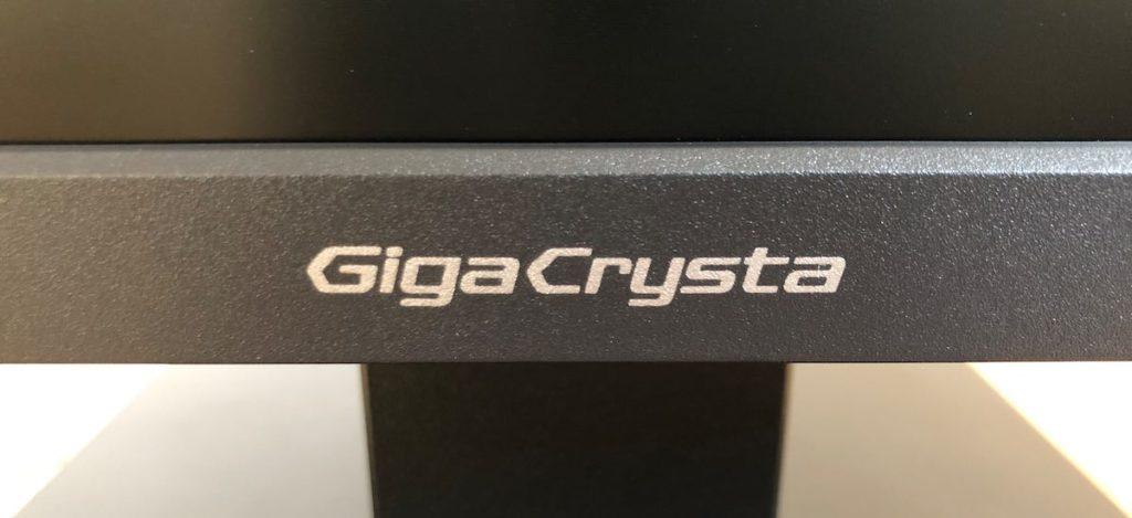 I-O DATA GigaCrysta EX-LDGC252STB ベゼル ロゴ