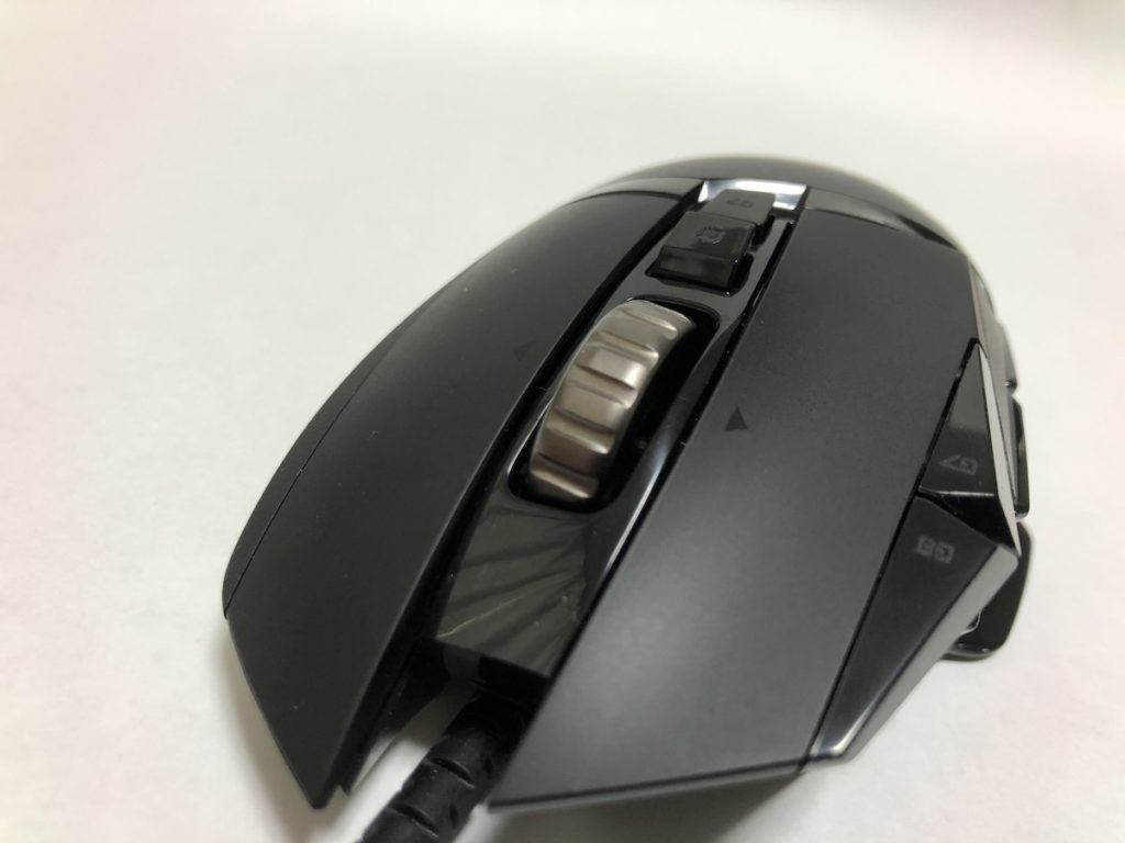 Logicool G502 HERO マウスホイール