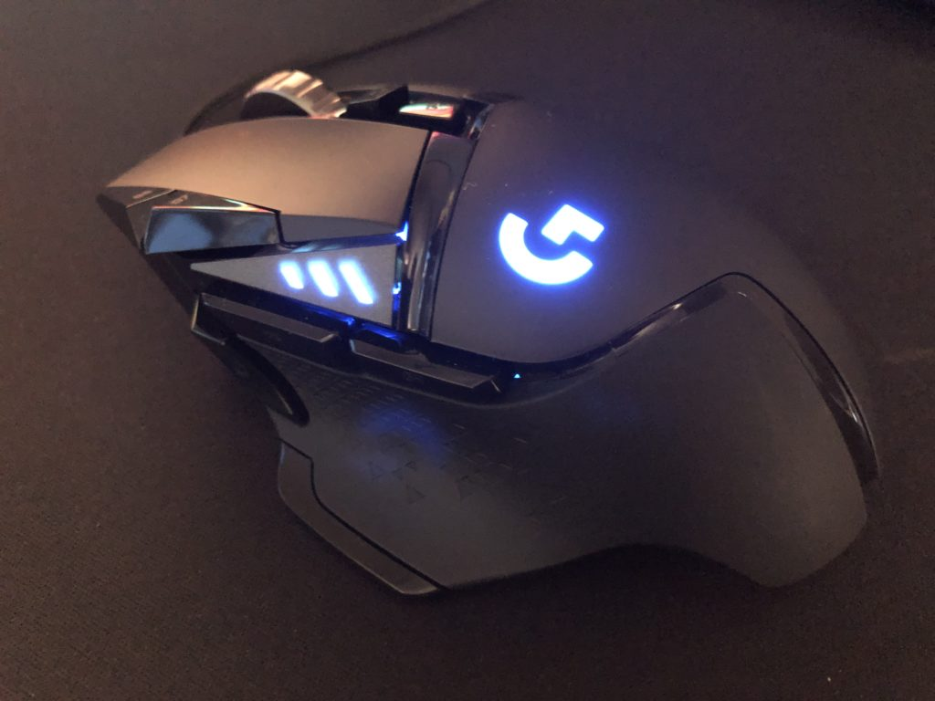 Logicool G502 HERO ライトアップ