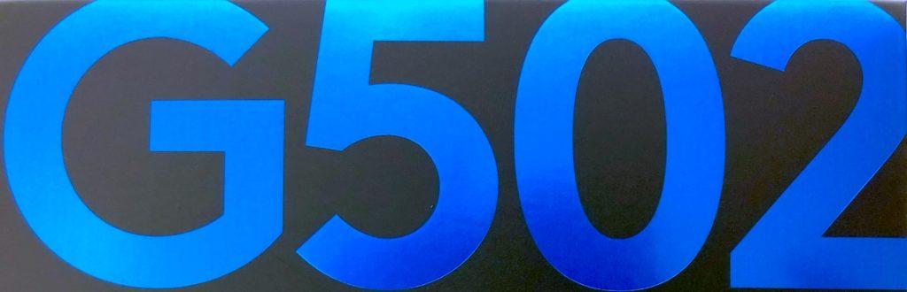 Logicool G502 HERO ロゴ