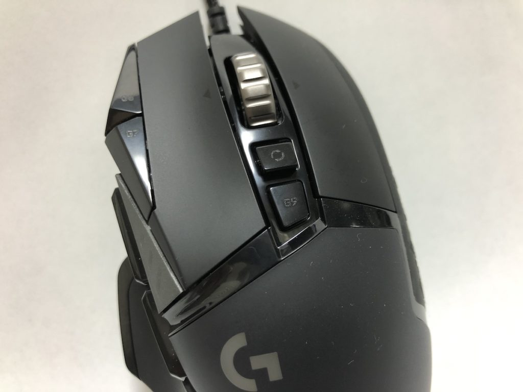 Logicool G502 HERO 本体中央ボタン