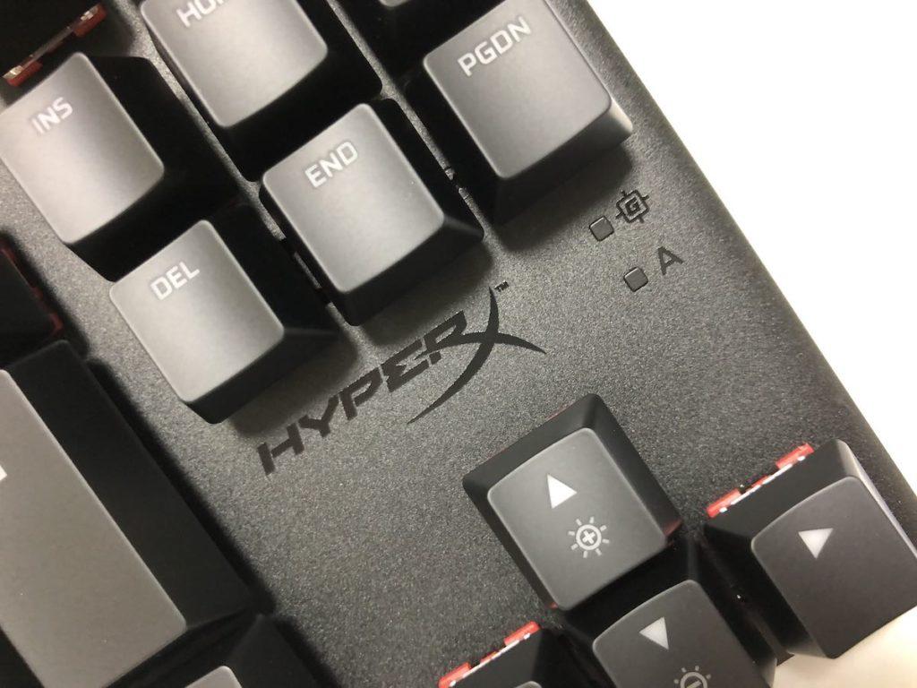 HyperX Alloy Origins Core インジケーターランプ