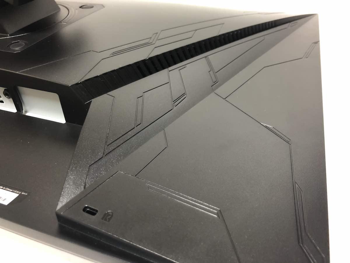 ASUS VG259Q 本体背面 模様