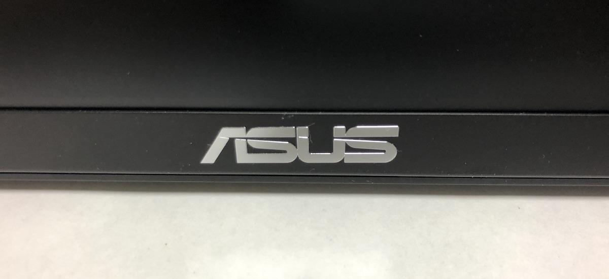 ASUS VG259Q 正面ロゴ