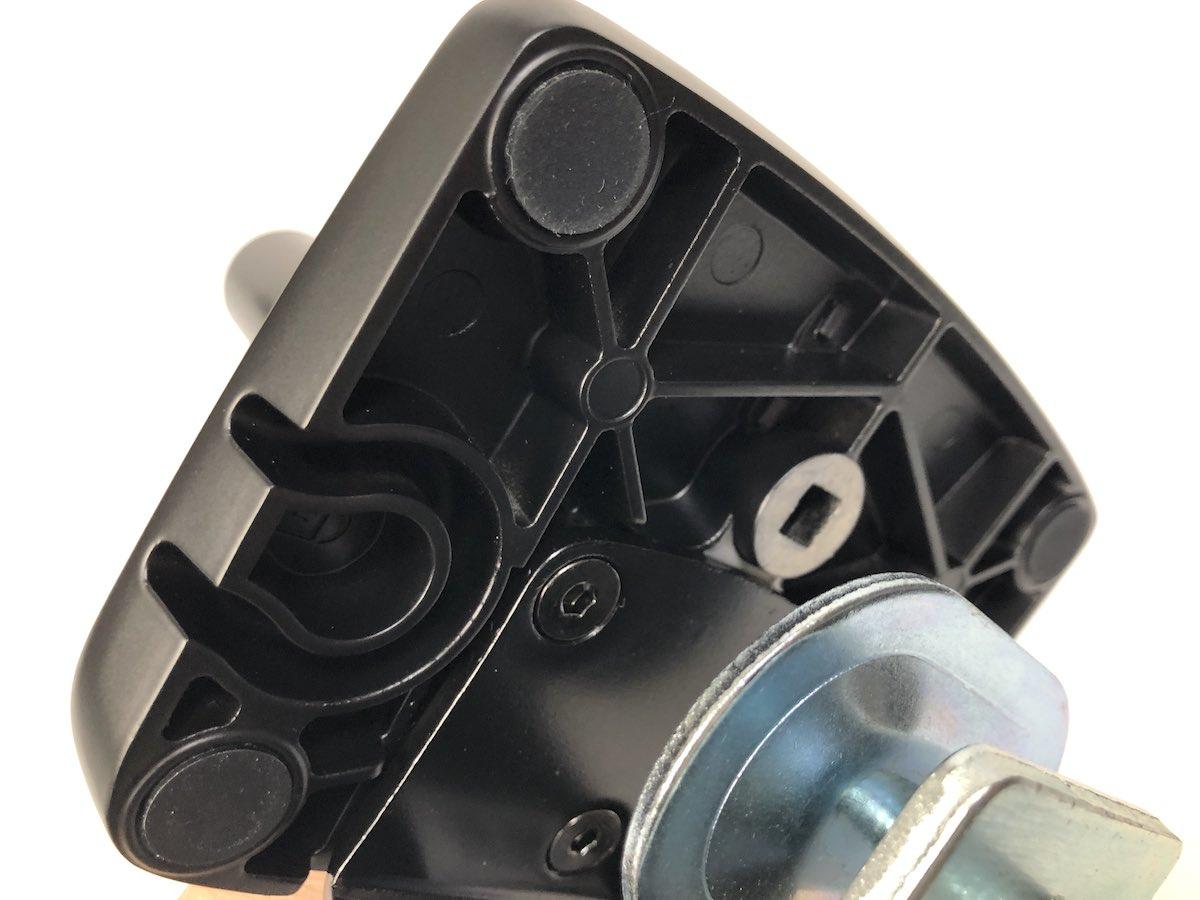 Amazon ベーシック モニターアーム ベース部 傷防止ラバー