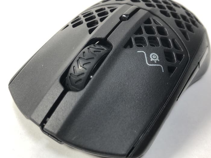 SteelSeries Aerox3 Wireless マウスホイール