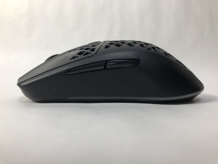 SteelSeries Aerox3 Wireless 本体 左サイド