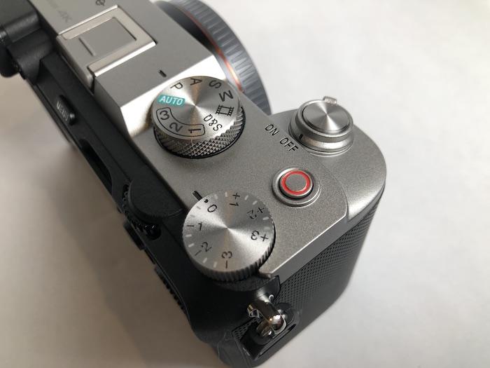 SONY a7C 上面ボタン類