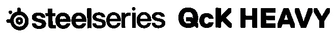 SteelSeries QcK Heavy XXL 製品ロゴ