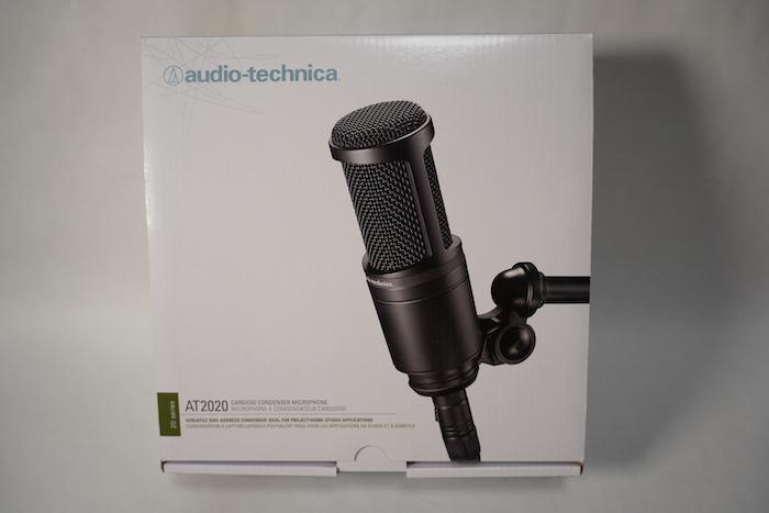 audio-technica AT2020 外箱