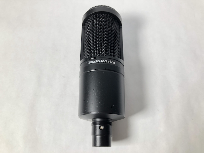 audio-technica AT2020 正面