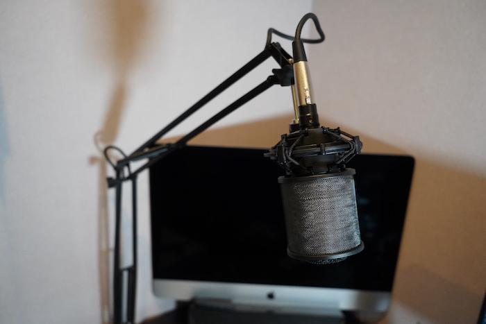 audio-technica AT2020 設置