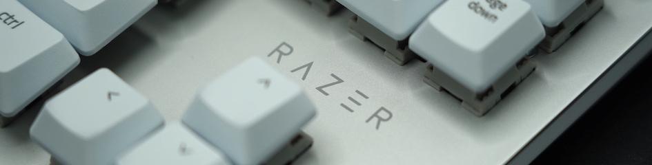 Razer BlackWidow Lite JP ロゴ アップ