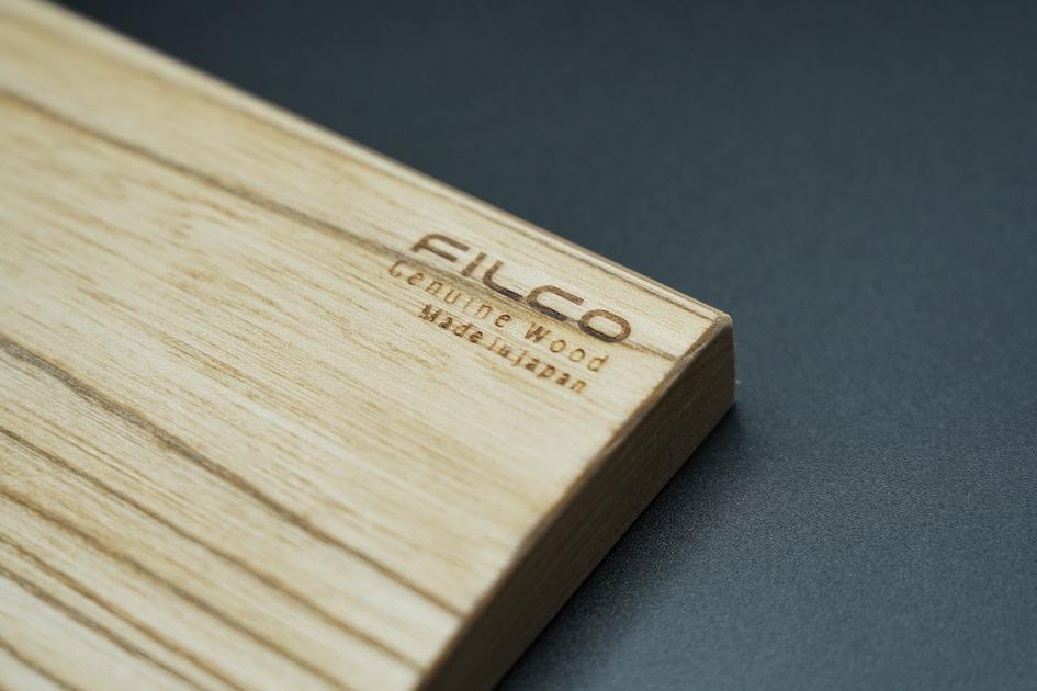Filco Genuine Wood Wrist Rest ロゴ