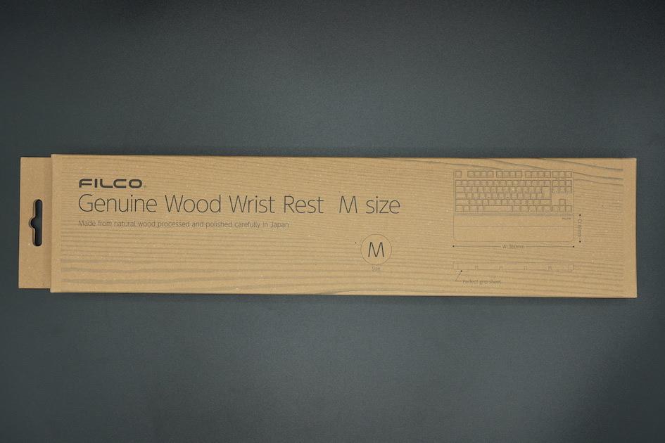 Filco Genuine Wood Wrist Rest 外箱