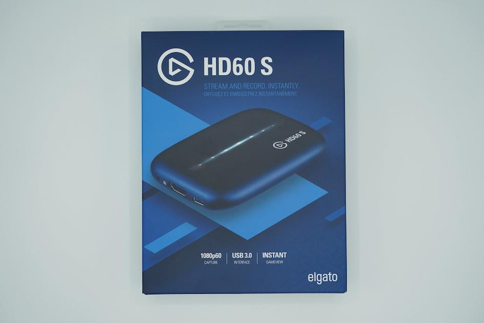 Elgato HD60S 外箱